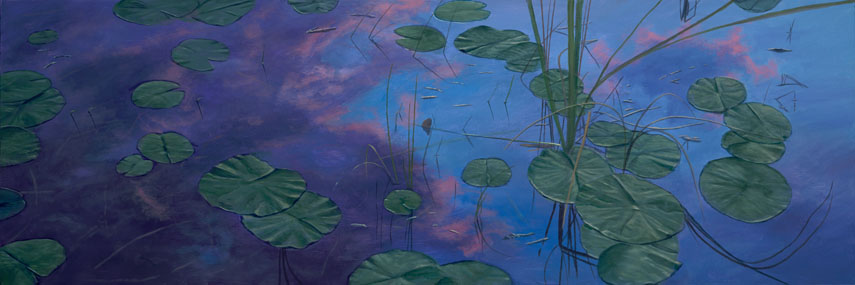 Lilies In The Sky by Phillip Anthony