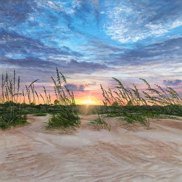 Untitled Sea Oats Sunrise